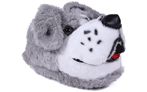 9006-9 - Sheepdog - Toddler Large - Happy Feet Animal Slippers