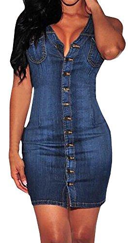 jeans dress - 8