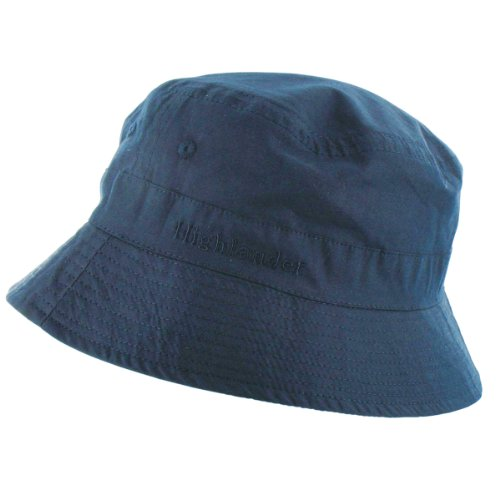 Highlander Premium Sun Hat - Navy, Medium
