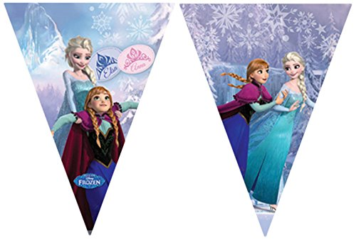 with Frozen  Banners & Streamers design