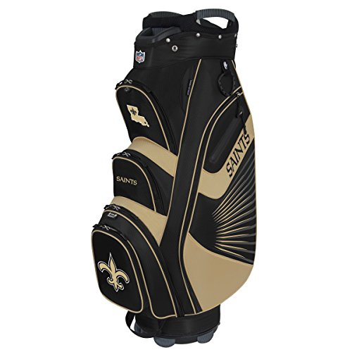 Team Effort NFL New Orleans Saints The Bucket II Cooler Cart - Bag New Orleans Saints
