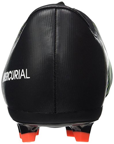 Nike Unisex-Kinder Mercurial Victory VI FG Fußballschuhe, Bunt Mehrfarbig (Black/Wht-Elctrc GRN-Prmnt Bl)