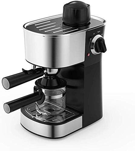ZJN-JN cafeteras Máquina de café Expresso con Leche Cafetera espumejea Brazo 5 Bar 240ml Bandeja de Goteo extraíble Barista café del Estilo de la máquina de 800W Las máquinas de café Espresso: