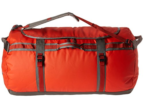 The North Face Base Camp Duffel (X-Large, Acrylic Orange/Falcon Brown) by The North Face