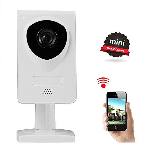 NexGadget IP Kamera,Wifi Überwachungskamera mit Zwei-Wege-Audio,Nachtsicht, Baby Monitor,Sicherheitskamera,Bewegungserkennung Alarm, Plug & Play