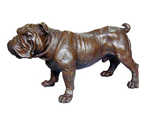 Toperkin Pet Home Decor Animal Metal Statue Dog Artware Bronze Sculpture TPY-403