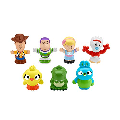 Toy Story Disney 4, 7 Friends Pack by Little People -