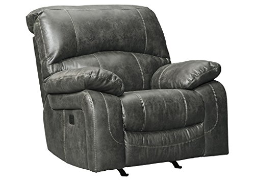 Signature Design by Ashley 5160113 Dunwell Power Recliner, Steel
