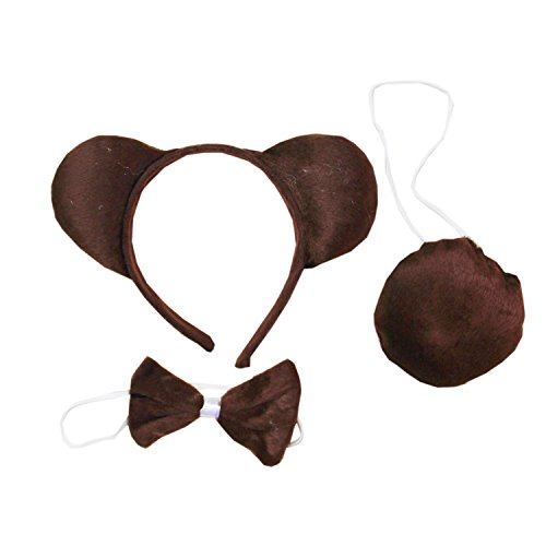 Kirei Sui Kids Brown Bear Costume Set