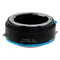 Fotodiox Pro Lens Mount Shift Adapter - Nikon Nikkor F Mount G-Type D/SLR Lens to Fujifilm X-Series Mirrorless Camera Body, with Built-In Aperture Control Dial