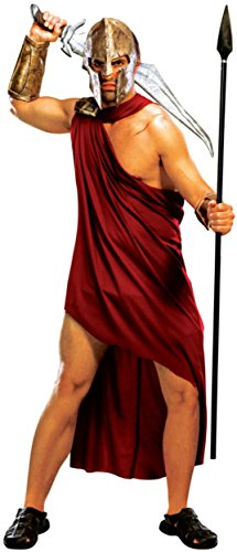 (Adult Men's 300 Rise of an Empire Spartan Gladiator Warrior Costume XL 46)