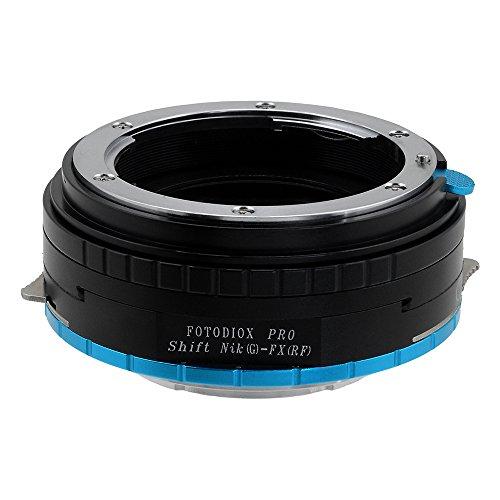 Fotodiox Pro Lens Mount Shift Adapter - Nikon Nikkor F Mount G-Type D/SLR Lens to X-Series Mirrorless Camera