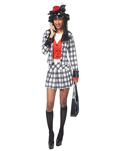 Adult Dionne Notionless BFF Costume, Large, Black/White]()