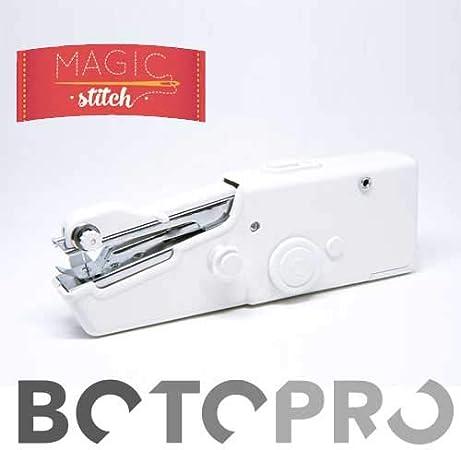 BOTOPRO - Magic Stitch, la máquina de coser portátil, puntada rápida para todo tipo de telas - Anunciado en TV: Amazon.es: Hogar