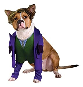 Dark Knight Joker costume for dogs