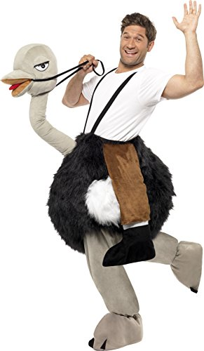 Halloween Costumes Riding Ostrich (Ostrich Rider Adult Costume)