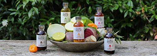 Fire-Brew-Apple-Cider-Vinegar-Health-Tonics-Sampler-Pack-of-5-2oz-Bottles-3-5-shots-per-bottle