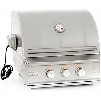 Amazoncom Blaze PRO Inch Burner BuiltIn Natural Or Propane - Cuisine pro 27