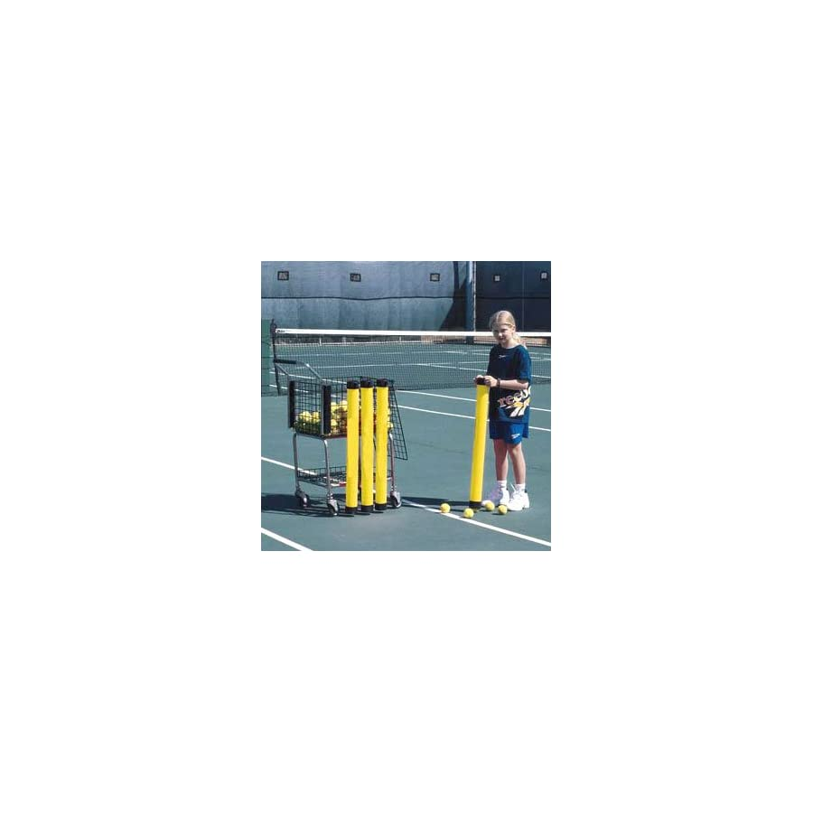 Oncourt Offcourt Tennis Masterpro Ball Tube – Easiest Way to Pick Up Tennis Balls/Shoulder Strap Included