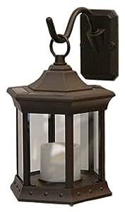 Starlite SLSTCG Solar Lantern Sconce Clear Glass