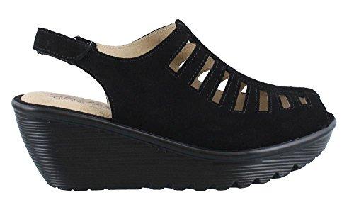 Skechers Women's Parallel-Trapezoid Wedge Sandal