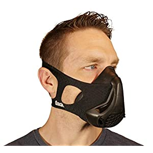 dimok Workout Mask Training Breathing Mask for Running Sports High Altitude Elevation Simulation – Endurance Exercise…