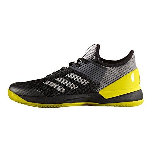 Jaune adidas tennis pour 3 Noir AdiZero Femme Clay de Argent Chaussure Ubersonic xS0PnP