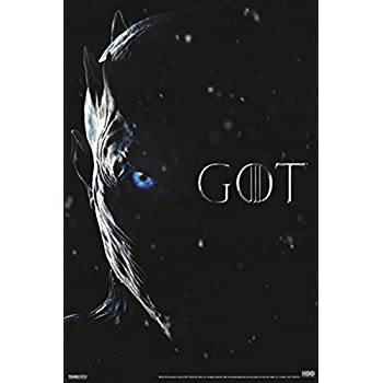 Game of Thrones Night King Eye TV Show Poster 12x18