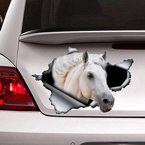 Funny Animal Horse Head Car Window Door Laptop Bumper Auto Decal Vinyl Sticker