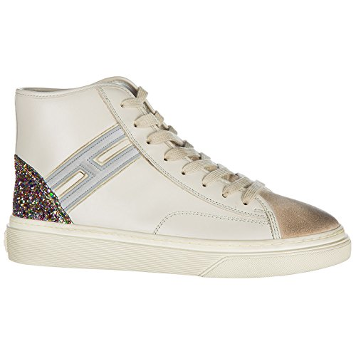 Hogan Women's Shoes high top Leather Trainers Sneakers h342 White cheap sale lowest price buy cheap professional classic ebay 37KQBgU