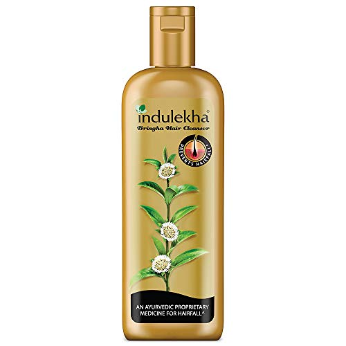 Indulekha Bringha Shampoo, Ayurvedic Medicine For Hair Fall, Free From Parabens, Synthetic Dyes And Synthetic Perfume…