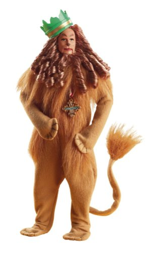 The Wizard of Oz Friends: Cowardly Lion Doll]()