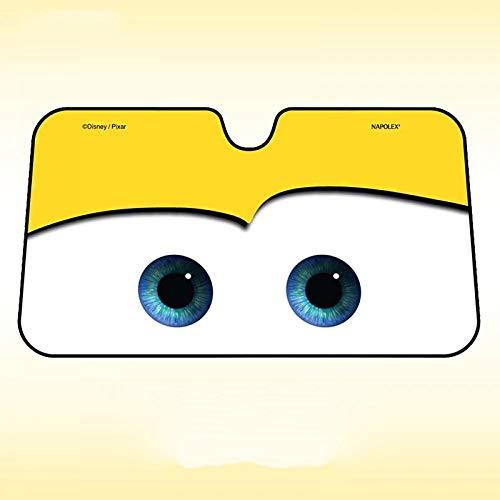 Cartoon Window Foils Eye Pixar Heated Windshield Sunshade Car Window Windscreen Cover Sun Shade Auto Sun Visor Car-Covers Yellow]()