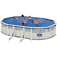 San Marina Pools - Piscina De Chapa Capri 610 X 375 X 120 Cm + Depuradora De Arena