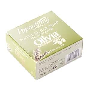 Papoutsanis Olivia Pure Greek Olive Oil Soap 125 gram bar