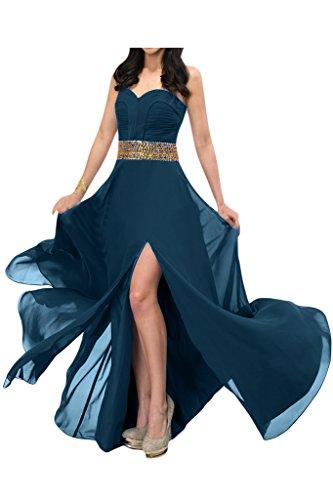 Missdressy - Vestido - trapecio - para mujer Azul Tinta 42