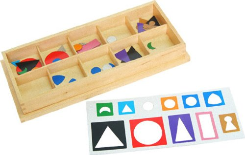 Montessori Small Grammar Symbols with Box