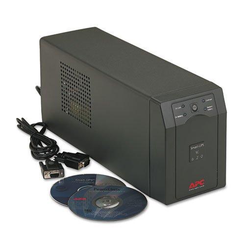 American Power Conversion Smart Ups Battery Backup System  Four Outlet 620 Volt Amps   Bmc Apw Sc620