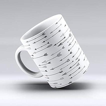 Amazon.com: The Vector Black Arrows Ink Ceramic Coffee Mug or Tea ...
