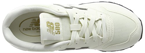 De Deporte Unisex gold Adulto Balance white Zapatillas 500v1 New Blanco S1n67tw