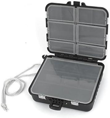 DealMux plástico destacável 19 Compartimentos Peixe Lure jóias de armazenamento caixa caso: Amazon.es: Oficina y papelería