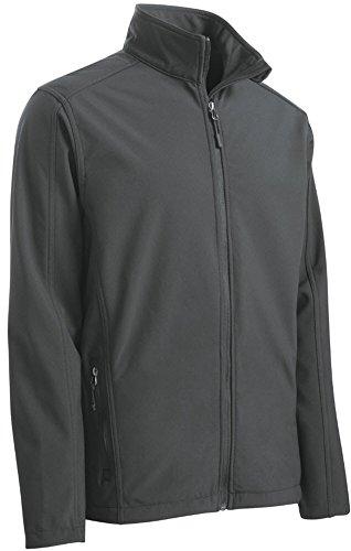 Kerrian Online Fashions 414161W6WpL Joe's USA Mens Big and Tall Core Soft Shell Jackets. Sizes XS-6XL and LT-4XLT