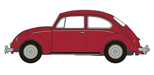 Ruby Oxford (Oxford Diecast 1:148 Scale N Gauge Ruby Red VW Beetle)