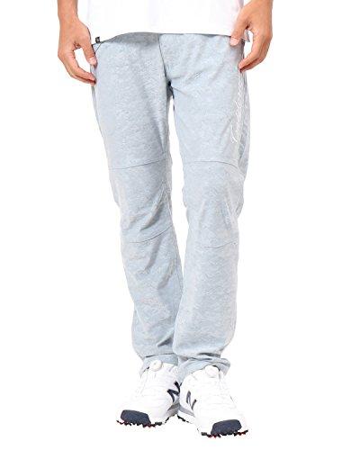 [ガッチャ ゴルフ] GOTCHA GOLF パンツ 撥水 スケッチ カモ ストレッチ ジャカード パンツ 182GG1804 ブルーグレー Sサイズ