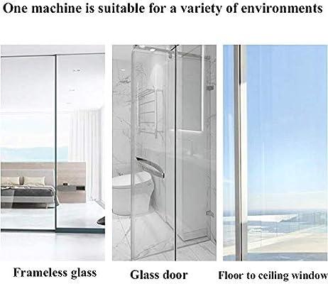 BuBu-Fu totalmente automática de Inteligencia de cristal de ventana del robot limpiador, 2500Pa Aspirador Robot adsorción Ventana con cuerda de seguridad, se puede utilizar for el interior y exterior: Amazon.es: Hogar