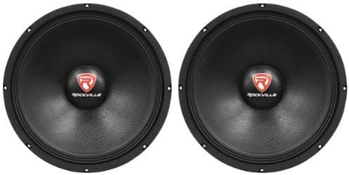 (2) New Rockville RVP15W8 2000 Watt 15