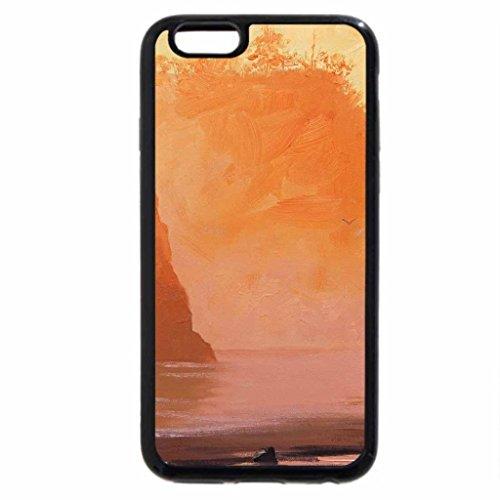 iPhone 6S / iPhone 6 Case (Black) Friends in Beach