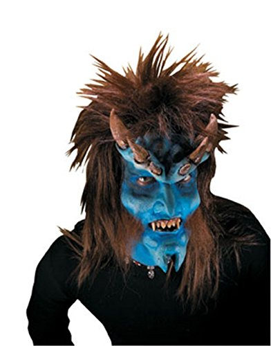[Reel FX Brimstone Devil Theater Make Up Costume Mask] (Prosthetic Fx Makeup Halloween Masks)