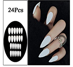 Amazon.com: Sethexy - 24 uñas postizas de color mate mate ...