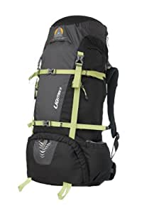 High Peak USA Alpinizmo Lightning 50 Backpack, Black